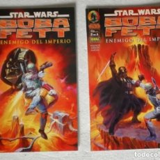 Cómics: COMIC STAR WARS: BOBA FETT ENEMIGO DEL IMPERIO - COMPLETA, 2 NUMEROS; PLANETA DEAGOSTINI. Lote 180191152