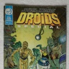 Cómics: COMIC STAR WARS: DROIDS SPECIAL: LAS AVENTURAS DE R2-D2 Y C3PO - NORMA EDITORIAL. Lote 180192262