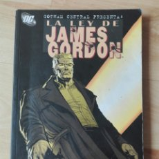 Cómics: LA LEY DE JAMES GORDON. TOMO PLANETA. BATMAN. Lote 180244430