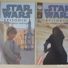 Cómics: STAR WARS - EPISODIO I: LA AMENAZA FANTASMA - VOLÚMENES 2 Y 3. Lote 180440456