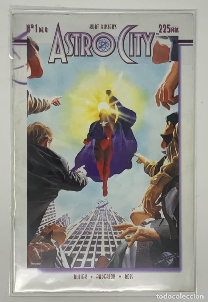CÓMICS ASTRO CITY Nº 1 DE 6 EDITORIAL PLANETA AÑO 1997 HURT BUSIEK'S (Tebeos y Comics - Planeta)
