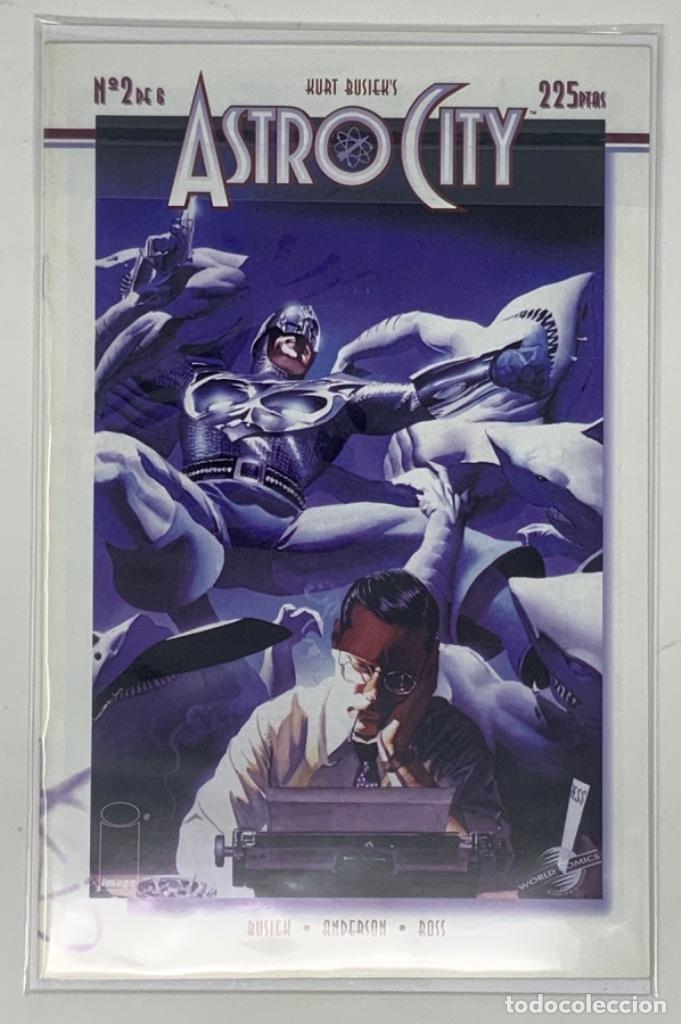 CÓMICS ASTRO CITY Nº 2 DE 6 EDITORIAL PLANETA AÑO 1997 HURT BUSIEK'S (Tebeos y Comics - Planeta)