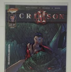 Cómics: CÓMICS CRIMSON Nº22 PLANETA AÑO 1999 AUGUSTYN-RAMOS-HOPE. Lote 181355236