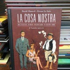Cómics: LA COSA NOSTRA - SEGUNDA ÉPOCA - CHAUVEL · LE SAËE - PLANETA. Lote 181415661