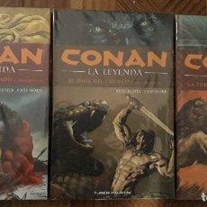 Cómics: CONAN: LA LEYENDA HC TOMOS 1 A 3. Lote 140470617