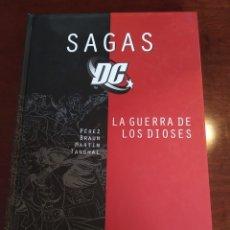 Cómics: SAGAS DC Nº 5 - LA GUERRA DE LOS DIOSES. Lote 183172607