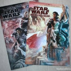 Cómics: STAR WARS :IMPERIO DESTRUIDO Nº 2 + Nº4 (OFERTA ) . Lote 183417692