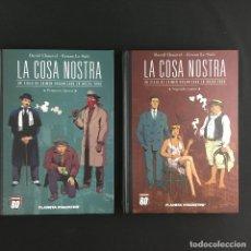 Cómics: LA COSA NOSTRA-1ª Y 2ª ÉPOCA-PLANETA DE AGOSTINI. Lote 183438843