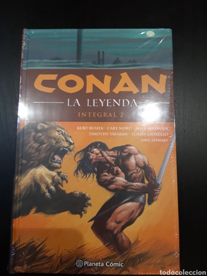 CONAN LA LEYENDA INTEGRAL 2 (Tebeos y Comics - Planeta)