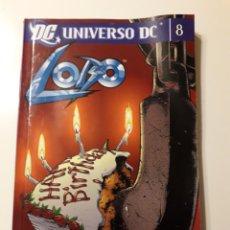 Cómics: LOBO. UNIVERSO DC. TOMO 8. Lote 184200215