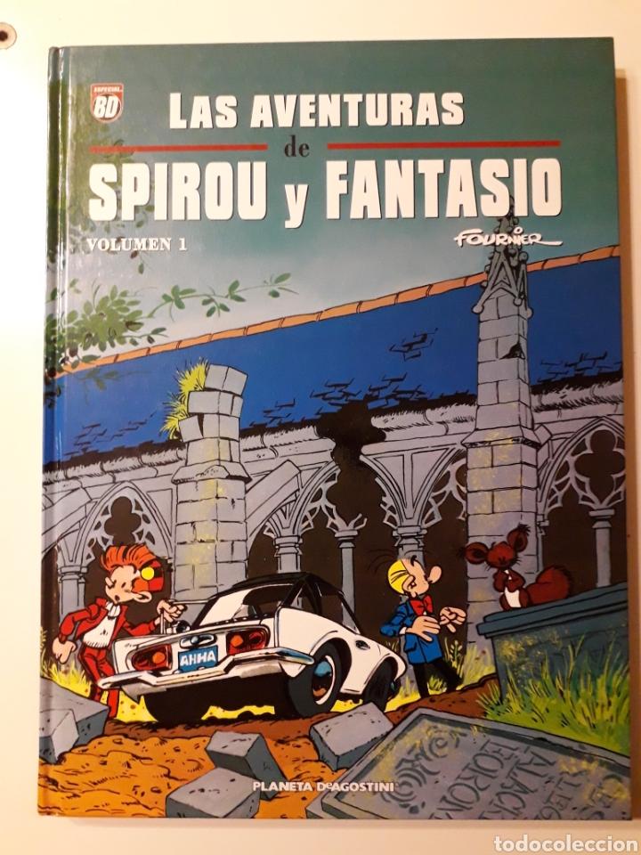 LAS AVENTURAS DE SPIROU Y FANTASIO. FOURNIER. TOMO 1 (Tebeos y Comics - Planeta)