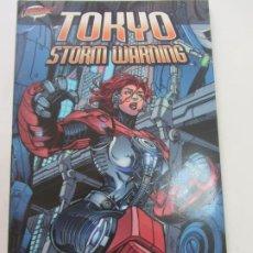 Cómics: TOKYO STORM WARNING WARREN ELLIS JAMES RAIZ BUEN ESTADO CLIFFHANGER CX33. Lote 186252283