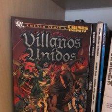 Cómics: VILLANOS UNIDOS TOMO PLANETA. Lote 186266381