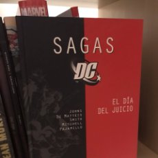 Cómics: SAGAS DC EL DIA DEL JUICIO PLANETA. Lote 186268966