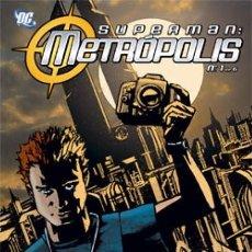 Cómics: SUPERMAN: METROPOLIS Nº 1 - PLANETA - BUEN ESTADO. Lote 186274702