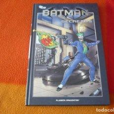 Cómics: BATMAN SECRETOS LA COLECCION 21 ( KIETH BEDARD ) ¡MUY BUEN ESTADO! PLANETA DC TAPA JOKER. Lote 187295720