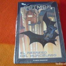 Cómics: BATMAN EL REGRESO DEL MURCIELAGO LA COLECCION 33 ¡MUY BUEN ESTADO! PLANETA DC TAPA DURA. Lote 187409340