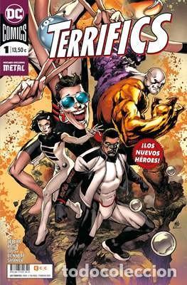 LOS TERRIFICS COMPLETA 3 TOMOS - ECC DC COMICS - JEFF LEMIRE (Tebeos y Comics - Planeta)