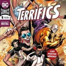 Cómics: LOS TERRIFICS COMPLETA 3 TOMOS - ECC DC COMICS - JEFF LEMIRE. Lote 187514331