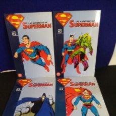Cómics: LAS AVENTURAS DE SUPERMAN DEL 1 AL 4 , DC PLANETA AGOSTINI. Lote 187995411