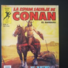 Comics: EXCELENTE ESTADO LA ESPADA SALVAJE DE CONAN 16 SERIE ORO PLANETA. Lote 189077872