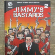 Cómics: JIMMY'S BASTARDS - Nº 2 - AFTERSHOCK - TOMO TAPA DURA -PLANETA COMIC. Lote 189567248