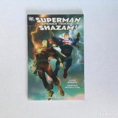 Comics : SUPERMAN/SHAZAM!: PRIMER TRUENO DE JUDD WINICK Y JOSHUA MIDDLETON. PLANETA.. Lote 189591482