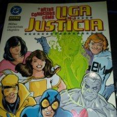 Cómics: ANTES CONOCIDOS COMO LIGA DE LA JUSTICIA. Lote 189910225