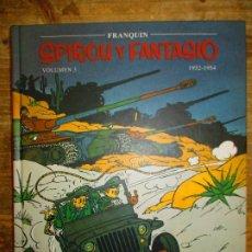 Cómics: SPIROU Y FANTASIO - VOLUMEN 3 - 1952 / 1954 - FRANQUIN - PLANETA DEAGOSTINI - MUY BUEN ESTADO. Lote 190754262