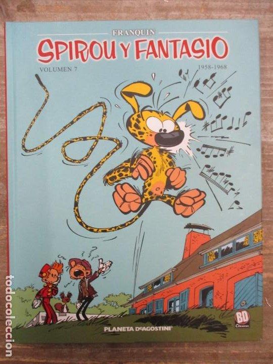 SPIROU Y FANTASIO - VOLUMEN 6 - 1958 / 1968 - FRANQUIN - PLANETA DEAGOSTINI - MUY BUEN ESTADO (Tebeos y Comics - Planeta)