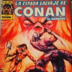 Cómics: LA ESPADA DE CONAN EL BÁRBARO. Nº117. COLECCIÒN ORO. Lote 191531173