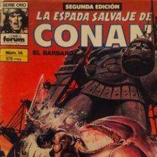 Cómics: LA ESPADA DE CONAN EL BARBARO. Nº14. COLECCIÒN ORO. Lote 191532271