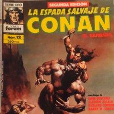 Cómics: LA ESPADA DE CONAN EL BARBARO. Nº12. Lote 191532868