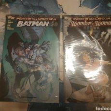 Cómics: ESPECIALES LA NOCHE MÁS OSCURA BATMAN WONDER WOMAN SUPERMAN Y RELATOS. Lote 191640246