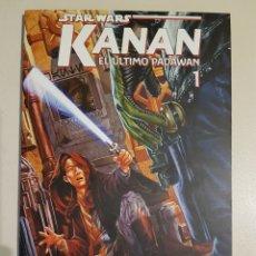 Cómics: STAR WARS KANAN EL ÚLTIMO PADAWAN - TOMO 1 - PLANETA. Lote 191654760