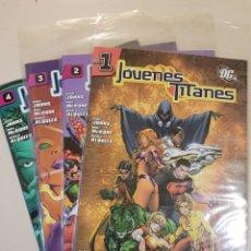 Cómics: JÓVENES TITANES - 1 2 3 4 - GRAPA PLANETA DE AGOSTINI - DC. Lote 191987757