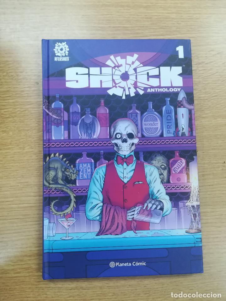 SHOCK ANTHOLOGY #1 (Tebeos y Comics - Planeta)