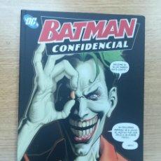 Cómics: BATMAN CONFIDENCIAL #5 COMPRENDE USTED SUS DERECHOS. Lote 193709391