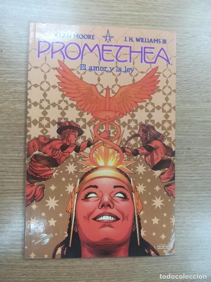 PROMETHEA #1 EL AMOR Y LA LEY (Tebeos y Comics - Planeta)