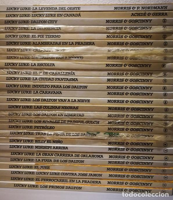 Cómics: LUCKY LUKE - COLECCION COMPLETA DE 25 TOMOS + LOS 2 TOMOS EXTRAS - PLANETA DeAGOSTINI 2005 Ver fotos - Foto 7 - 194221576