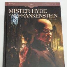 Cómics: MISTER HYDE CONTRA FRANKENSTEINS - EDICION INTEGRAL - DOBBS - ANTONIO MARINETTI / PLANETA COMIC. Lote 194313215