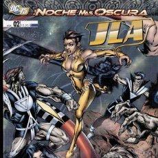 Cómics: JLA VOL II Nº 2 LA NOCHE MÁS OSCURA. Lote 194613480