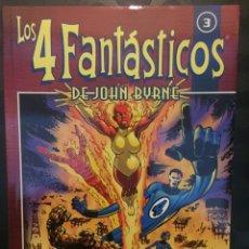 Cómics: LOS 4 FANTASTICOS DE JOHN BYRNE COLECCIONABLE N.3 LA DAMA ARDIENTE . ( 2002 ).. Lote 194896680