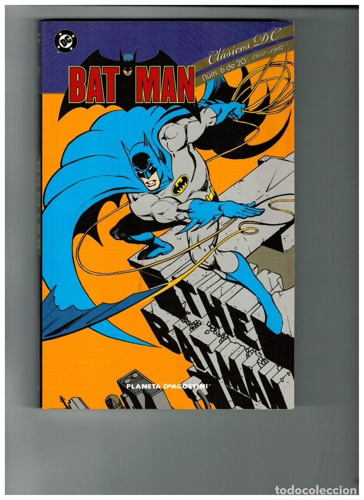 CLÁSICOS DC: BATMAN - Nº.6. PLANETA 2010. NUEVO. (Tebeos y Comics - Planeta)