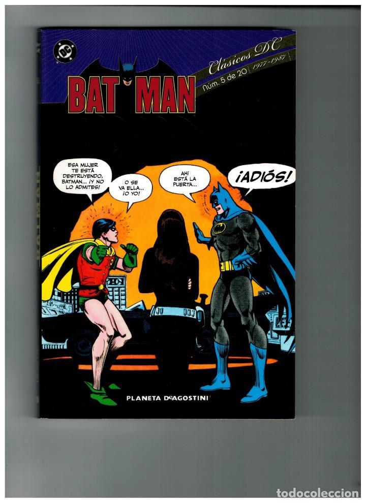 CLÁSICOS DC: BATMAN - Nº.5. PLANETA 2010. NUEVO. (Tebeos y Comics - Planeta)