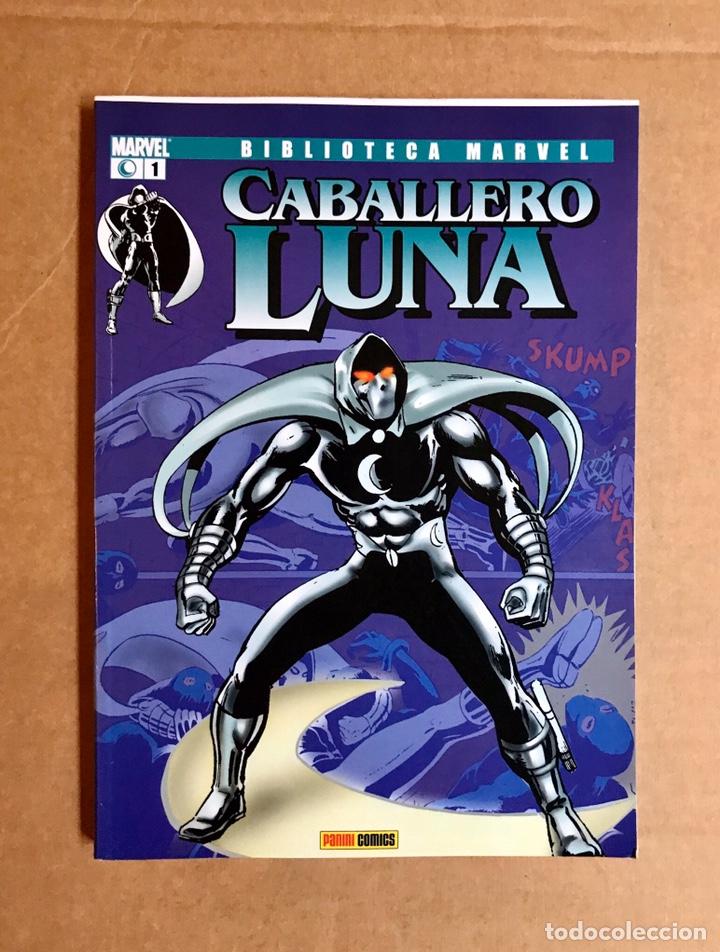 BIBLIOTECA MARVEL: CABALLERO LUNA 1 (Tebeos y Comics - Planeta)
