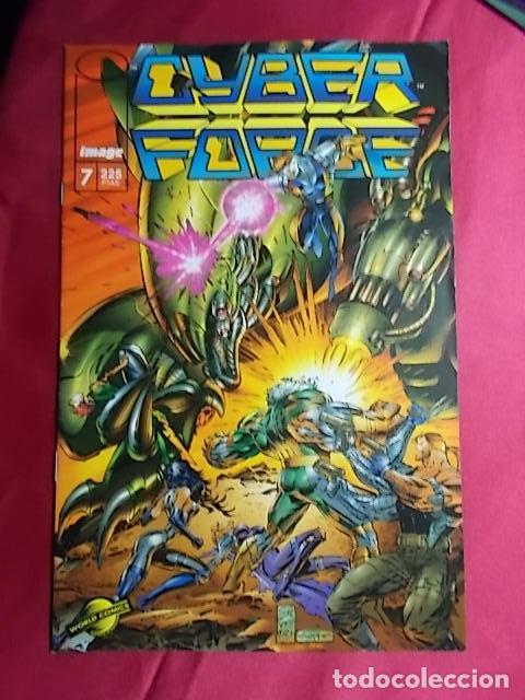 CYBER FORCE . Nº 7 . PLANETA (Tebeos y Comics - Planeta)