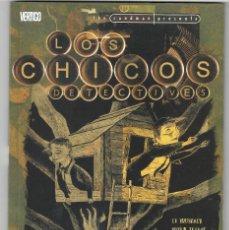Cómics: LOS CHICOS DETECTIVES. ED BRUBAKER Y BRYAN TALBOT. PLANETA. VÉRTIGO.THE SANDMAN PRESENTA.. Lote 195538207