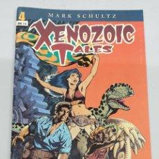 Comics: XENOZOIC TALES Nº 4 - MARK SCHULTZ / PLANETA. Lote 196781523