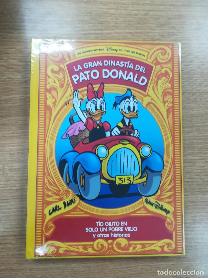 LA GRAN DINASTIA DEL PATO DONALD #15 TIO GILITO EN SOLO UN POBRE VIEJO Y OTRAS HISTORIAS (Tebeos y Comics - Planeta)